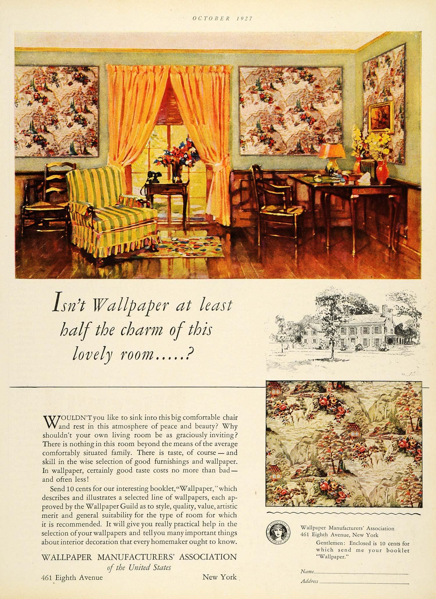 Wallpaper manufacturers association home decor furniture for Wallpaper manufacturers