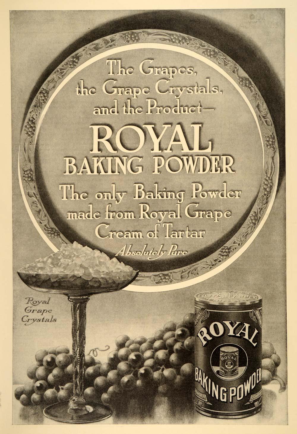 1914 Royal Baking Powder Advertisement Collectibles