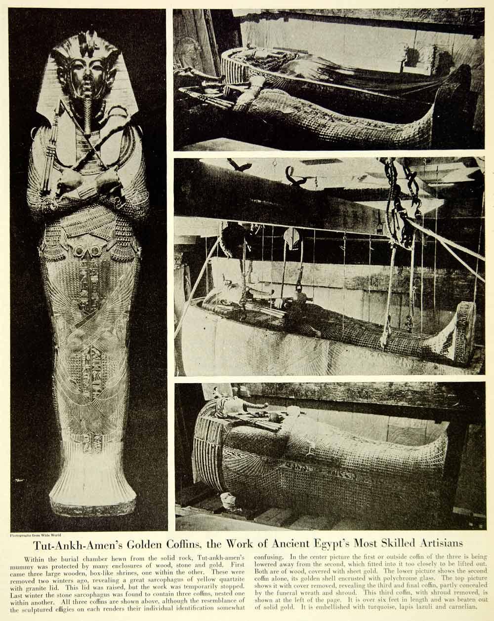 egyptian mummies coffins - photo #30