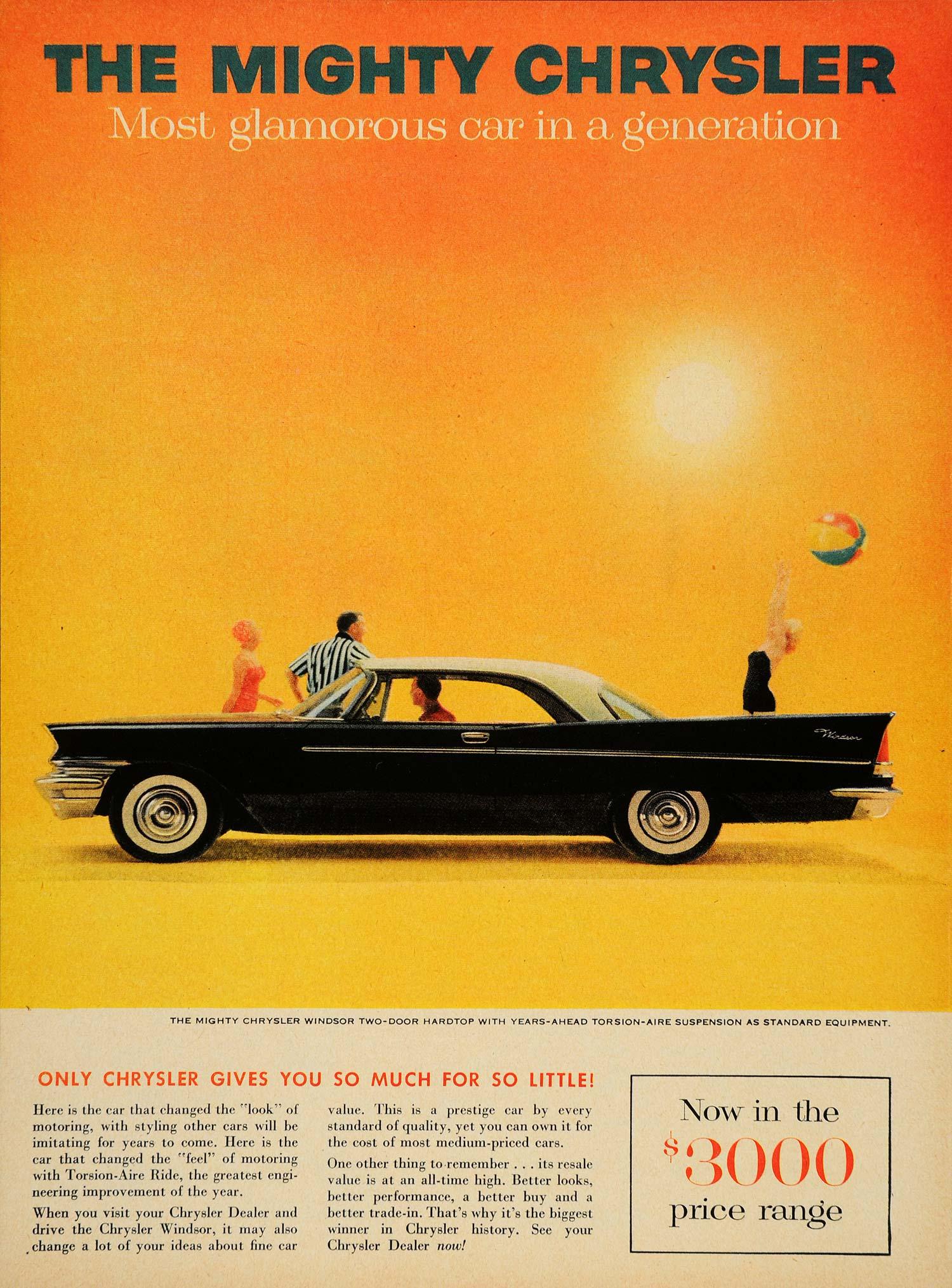 1957 ad vintage chrysler windsor two door hardtop cars for 1957 chrysler windsor 2 door hardtop