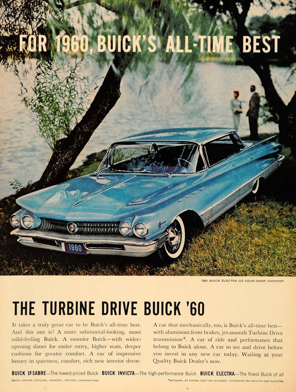 1959 Ad Buick Motor Division Gm Electra 4 Door Hardtop