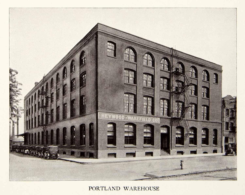 1926 Print Heywood Wakefield Company Portland Oregon Furniture Warehouse Wicker Ebay