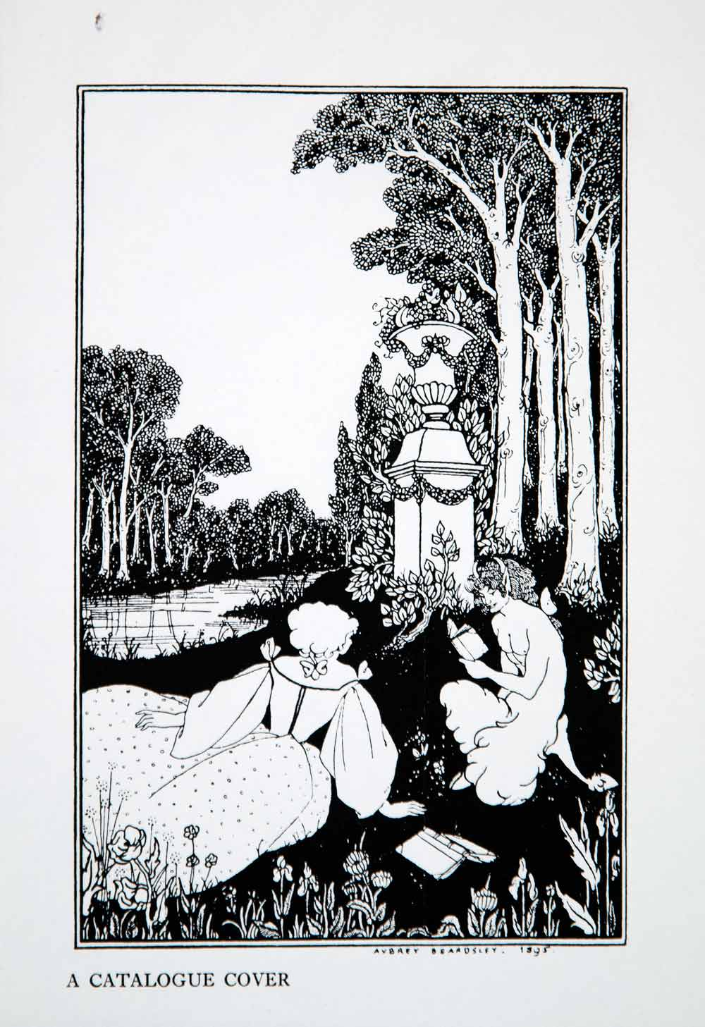 beardsley women Some aubrey beardsley art and illustration from le morte d'arthur, salomé, the yellow book, and elsewhere.