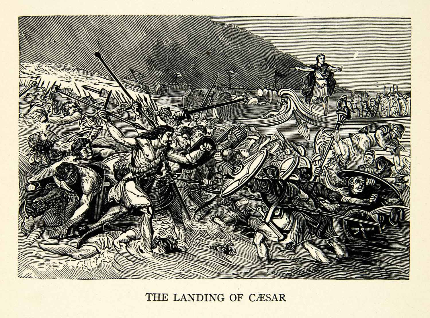 the invasion of britain by the roman army under emperor claudius