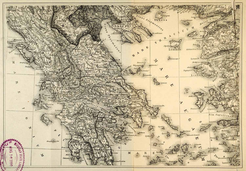 Aegaeum Mare Map
