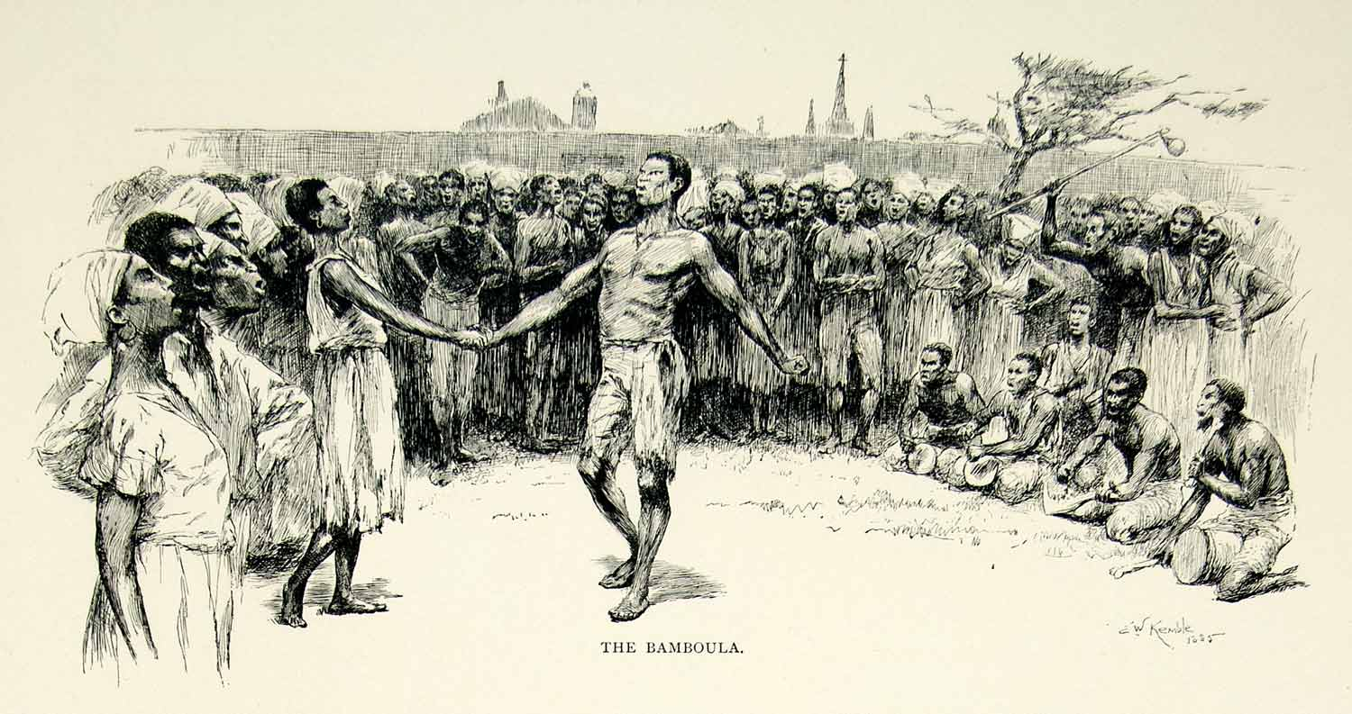 You tell african american slave dance precisely